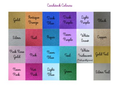 Cardstock Colours V1