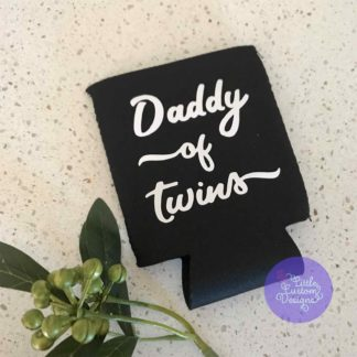 Daddy of twins stubby holder