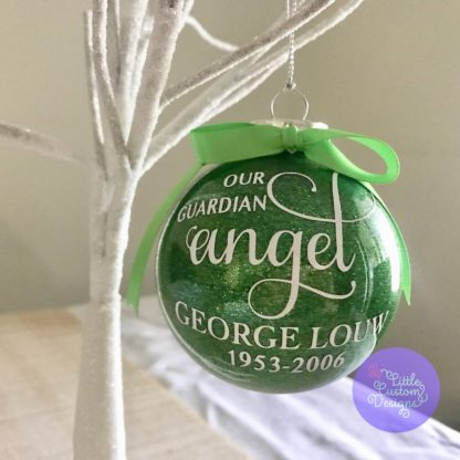 Our Guardian Angel Bauble