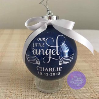 Our Little Angel Bauble