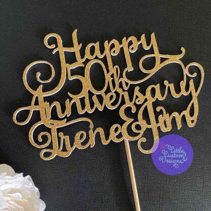 Happy Anniversary Names and Number