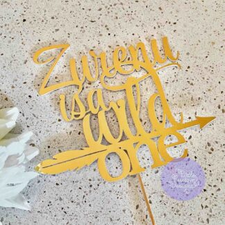 Is a wild one cake topper