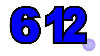 Numbers example