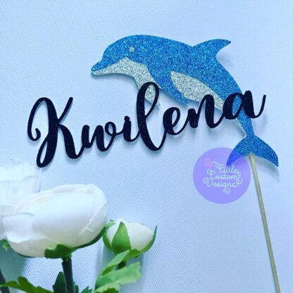 Dolphin Cake Topper